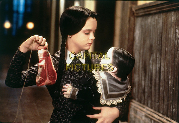 Addams Family Values (1993)<br /> Christina Ricci<br /> *Filmstill - Editorial Use Only*<br /> CAP/KFS<br /> Image supplied by Capital Pictures