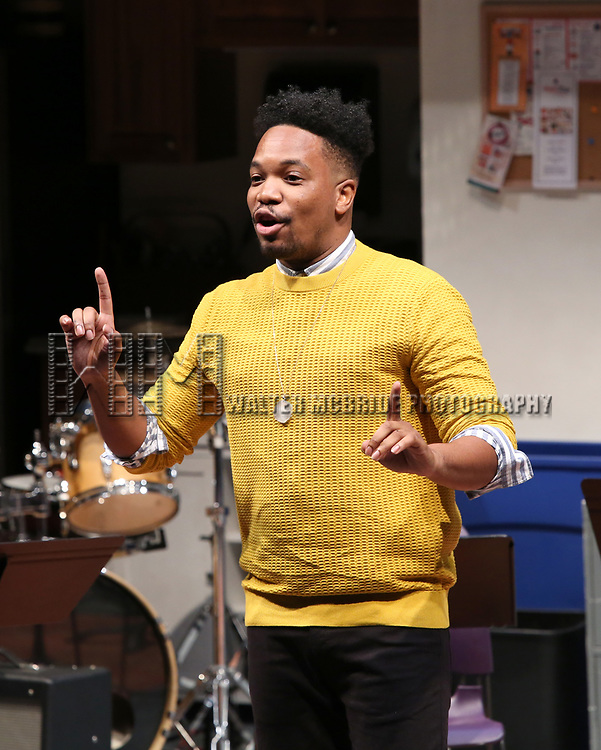 Keelay Gipson during the 2018 Presentation of New Works by the DGF Fellows on October 15, 2018 at the Playwrights Horizons Theatre in New York City.