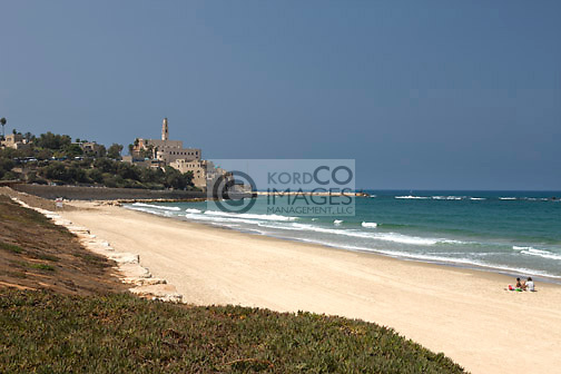 BEACH JAFFA OLD CITY TEL AVIV ISRAEL