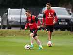John Fleck of Sheffield Utd  during the Sheffield Utd training session at the Shirebrook training complex, Sheffield. Picture date: 2nd September 2016. Picture Simon Bellis/Sportimage