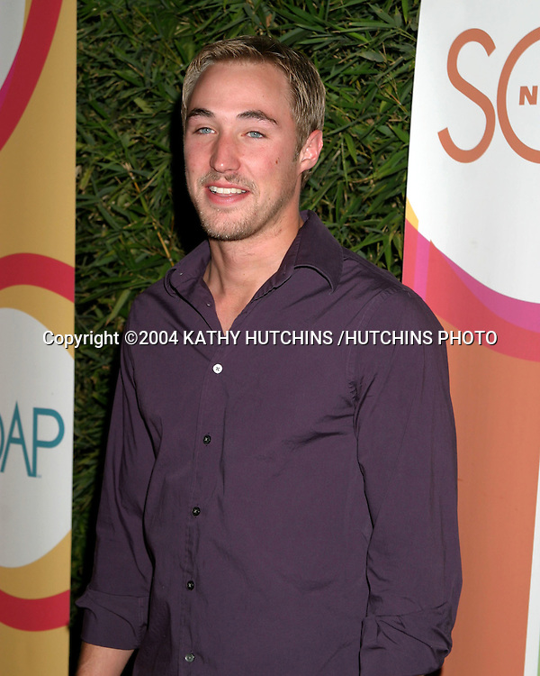 ©2004 KATHY HUTCHINS /HUTCHINS PHOTO.SOAPNET FALL LANCH PARTY.LOS ANGELES, CA.SEPTEMBER 23, 2004..KYLE LOWDER