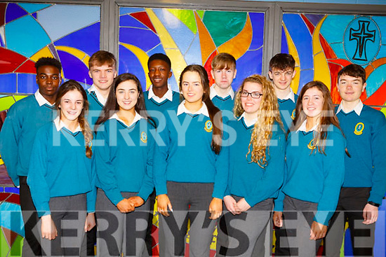 The students from Mercy Mounthawk school who launched the Family week that will take place from March 5th to the 9th in the school.<br /> Front l-r, Molly O&rsquo;Keefe, Isabelle Crowe, Sarah Healy, Meavh McElligott and Niamh Ryan.<br /> Back l-r, Mick Izehi, Luke Doherty, Larry Adebayo, Keevan McElligott, Louie Burne and Michael Moynihan.