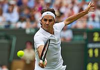 England, London, 24.06.2014. Tennis, Wimbledon, AELTC, Roger Federer (SUI) <br /> Photo: Tennisimages/Henk Koster