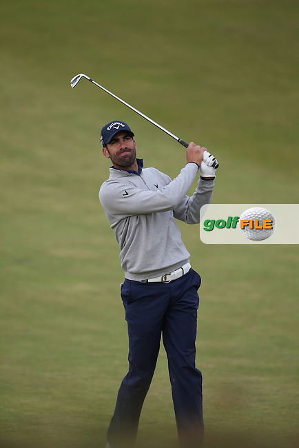 Alvaro Quiros (ESP) during Round Two at the KLM Dutch Open, from the Kennemer Golf & Country Club, Zandvoort, Netherlands. Picture:  David Lloyd / www.golffile.ie