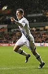 Tottenham's Tom Carroll celebrates scoring his sides fourth goal<br /> <br /> UEFA Europa League - Tottenham Hotspur v Monaco - White Hart Lane - England -10th December 2015 - Picture David Klein/Sportimage