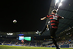 11 December 2015: Stanford's Corey Baird takes a corner kick. The Akron University Zips played the Stanford University Cardinal at Sporting Park in Kansas City, Kansas in a 2015 NCAA Division I Men's College Cup Semifinal match. The game ended in a 0-0 tie after overtime. Stanford advanced to the Final by winning the penalty kick shootout 8-7. (Photograph by Andy Mead/YCJ/Icon Sportswire)