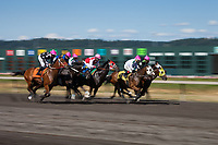 Thoroughbred Horse Racing, Emerald Downs, Auburn, Washington State, WA, America, USA.
