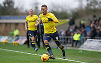 Kemar Roofe of Oxford United on the ball during the Sky Bet League 2 match between Oxford United and Bristol Rovers at the Kassam Stadium, Oxford, England on 17 January 2016. Photo by Andy Rowland / PRiME Media Images.