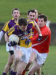 Louth Ronan Carroll Wexford Rory Quinlivan. Photo:Colin Bell/pressphotos.ie