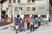 Berghaus Sch&ouml;nblick auf dem S&ouml;llereck bei  Oberstdorf im Allg&auml;u, Bayern, Deutschland<br /> Berghaus Sch&ouml;nblick on Mt.  Sellereck  near Oberstdorf, Allg&auml;u, Bavaria, Germany