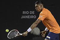 Rio de Janeiro (RJ), 18/02/2020 - Rio Open 2020 - Tenista Thiago Monteiro (BRA) durante partida contra o tenista Guido Pella (ARG)  no Rio Open 2020, etapa ATP 500 do circuito mundial de Tenis, no Jockey Club Brasileiro no Rio de Janeiro (RJ), nesta terca-feira (18). (Foto: Andre Fabiano/Codigo 19/Codigo 19)