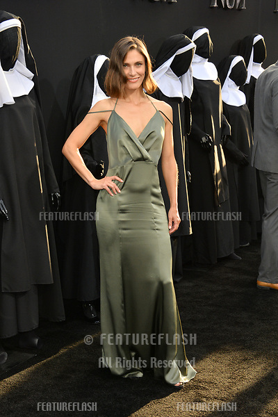 """LOS ANGELES, CA. September 04, 2018: Lili Bordan at the world premiere of """"The Nun"""" at the TCL Chinese Theatre, Hollywood."""