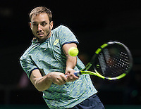 ABN AMRO World Tennis Tournament, Rotterdam, The Netherlands, 15 Februari, 2017, Victor Troicki (SRB)<br /> Photo: Henk Koster