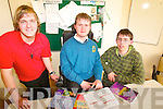 SWOTTING UP: The quiz team who have qualified for the national finals of the Youth Work Ireland Games busy preparing at Enable Ireland in Tralee last week, l-r: Liam O'Brien (Castlegregory), Patrick Flanagan (Tralee), Darren McKenna (Camp).   Copyright Kerry's Eye 2008