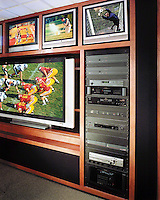 Multi Screen Video Wall For Sports Viewing