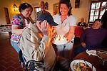 Al Weber's 81st birthday at Mission San Antonio de Padua, California,  during his 3rd Mission Portfolio Workshop, April 2011.