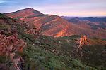 Wangara Hill (from Mount Ohlssen-Bagge), Flinder Ranges National Park, South Australia, Australia