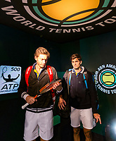 Rotterdam, The Netherlands, 17 Februari, 2018, ABNAMRO World Tennis Tournament, Ahoy, Tennis, Pierre-Hugues Herbert (FRA) / Nicolas Mahut (FRA)<br /> <br /> Photo: www.tennisimages.com