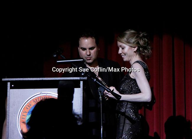 Kenneth Del Vecchio - Gala Awards Night - Closing Night - Hoboken International Film Festival held June 5, 2014 at the Paramount Theatre, Middletown, New York. (Sue Coflin/Max Photos)