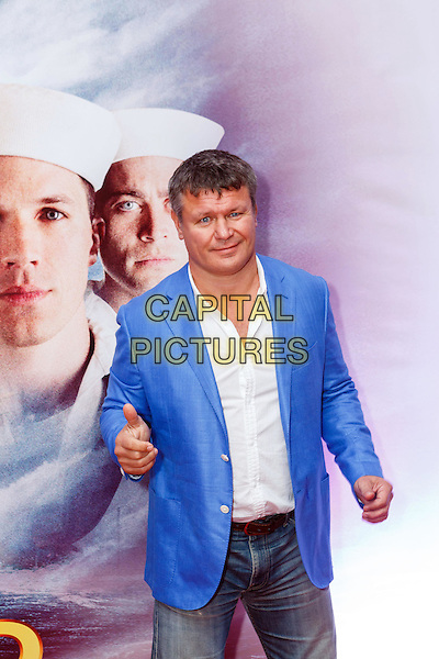 MOSCOW, RUSSIA - SEPTEMBER 20, 2016: Oleg Taktarov at the Russian premiere of a new action film 'USS Indianapolis: Men of Courage' at the 5 Zvyozd Na Paveletskoi Cinema Hall, Moscow, Russia.<br /> CAP/PER<br /> &copy;PER/Capital Pictures