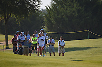 Maria Fassi (MEX) looks over her approach shot on 1 as she waits for a rules official during the round 3 of the Volunteers of America Texas Classic, the Old American Golf Club, The Colony, Texas, USA. 10/5/2019.<br /> Picture: Golffile   Ken Murray<br /> <br /> <br /> All photo usage must carry mandatory copyright credit (© Golffile   Ken Murray)