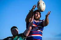Action from the Heartland Championship rugby match between Horowhenua Kapiti and Mid-Canterbury at Easton Park in Foxton, New Zealand on Saturday, 25 August 2018. Photo: Dave Lintott / lintottphoto.co.nz