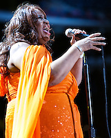 Aretha Franklin performs at Essence Festival 2012 in New Orleans, LA on July 8, 2012.  © HIGH ISO Music, LLC / Retna, Ltd.