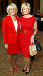 Liz Jameson and Leila Gilbert at the American Heart Association Go Red for Women luncheon at the InterContinental Houston Monday May 04,2009.  (Dave Rossman/For the Chronicle)