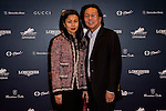 Tanya Liang and Frank Liang attends the Opening Gala of the Masters during the Longines Hong Kong Masters 2015 at the AsiaWorld Expo on 12 February 2015 in Hong Kong, China. Photo by Li Man Yuen / Power Sport Images