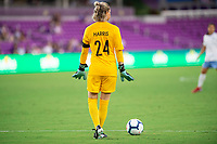 Orlando, FL - Wednesday September 11, 2019: Ashlyn Harris , Orlando Pride vs  Chicago Red Stars at Exploria Stadium.