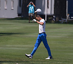 Steph Curry during the American Century Championship at Edgewood Tahoe Golf Course in Stateline, Nevada, Sunday, July 15, 2018.