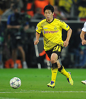 FUSSBALL   CHAMPIONS LEAGUE   SAISON 2011/2012  Borussia Dortmund - Arsenal London        13.09.2001 Shinji KAGAWA (Borussia Dortmund) Einzelaktion am Ball