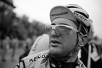 a exhausted Cannondale rider after the finishline<br /> <br /> 2014 Milano - San Remo