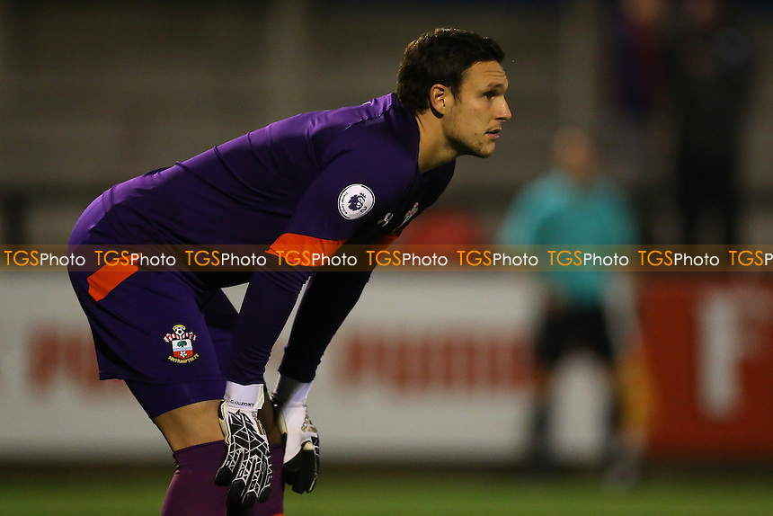 Alex McCarthy of Southampton during Arsenal Under-23 vs Southampton Under-23, Premier League 2 Football at Meadow Park on 14th October 2016