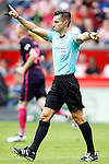 Spanish referee Carlos del Cerro Grande during La Liga match. September 24,2016. (ALTERPHOTOS/Acero)