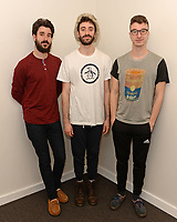 HOLLYWOOD, FL - FEBRUARY 12: AJR visit radio station Hits 97.3 Live on February 12, 2018 in Hollywood, Florida. <br /> CAP/MPI04<br /> &copy;MPI04/Capital Pictures