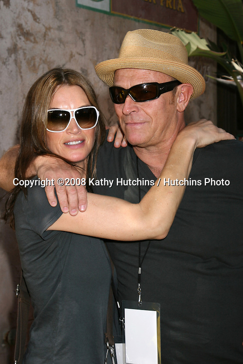 "Amanda Pays & Corbin Bernsen.""The Simpson's Ride"" Grand Opening.Universal Studios Theme Park.Los Angeles, CA.May 17, 2008.©2008 Kathy Hutchins / Hutchins Photo ."