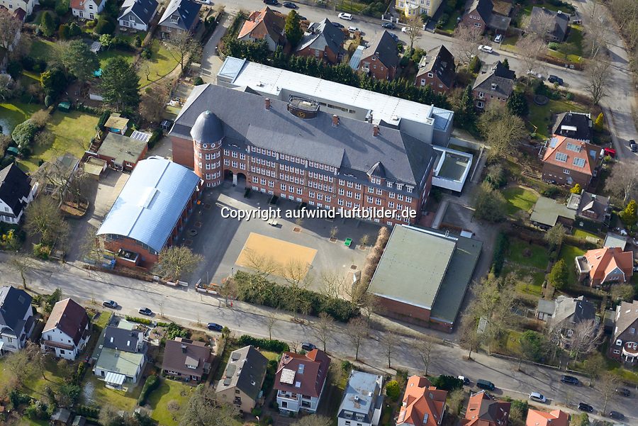 Hansa Gymnasium Bergedorf: EUROPA, DEUTSCHLAND, HAMBURG, BERGEDORF (EUROPE, GERMANY), 24.02.2017: Hansa Gymnasium Bergedorf