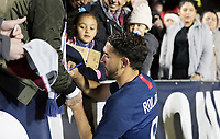 Cary, N.C. - Tuesday March 27, 2018: Cristian Roldan during an International friendly game between the men's national teams of the United States (USA) and Paraguay (PAR) at Sahlen's Stadium at WakeMed Soccer Park.