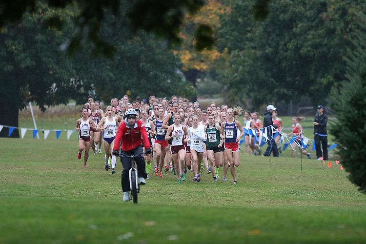 October 27, 2012; Portland, OR, USA; during the WCC Cross Country Championships at Fernhill Park.