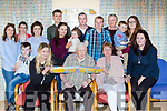 James O'Leary Ballyfinnane who celebrated his 90th birthday with his family and friends in Milltown on Sunday