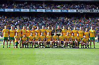 The Donegal team in the 2014 All-Ireland Football Final in 2014.<br /> Photo: Don MacMonagle<br /> <br /> Photo: Don MacMonagle <br /> e: info@macmonagle.com