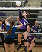 Volleyball 7A State: Fayetteville vs Bryant