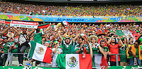 Mexican Fans as Teams enter the Stadium<br /> --------------------<br /> BPI<br /> 2014 FIFA World Cup<br /> Group A<br /> Brazil v Mexico<br /> Fortaleza de S&Atilde;&pound;o Jo&Atilde;&pound;o, Rio de Janeiro, Brazil<br /> 17 June 2014<br /> &Acirc;&copy;2014 BPI all rights reserved