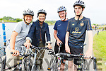Ready for the road in the Wetlands as they participate in the Pedal in the Park on Friday. L-r, Dovo Zodel, Frithjof Dweken, Dave and Paul Moore.