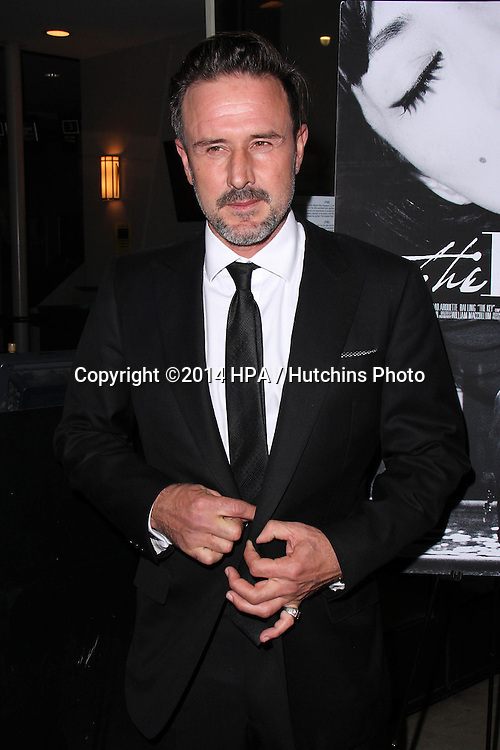 "LOS ANGELES - NOV 21:  David Arquette at the ""The Key"" Premiere at the Laemmle's Music Hall on November 21, 2014 in Beverly Hills, CA"