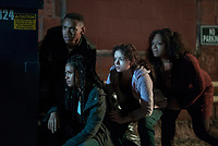The First Purge (2018) <br /> Joivan Wade, Lex Scott Davis<br /> *Filmstill - Editorial Use Only*<br /> CAP/FB<br /> Image supplied by Capital Pictures