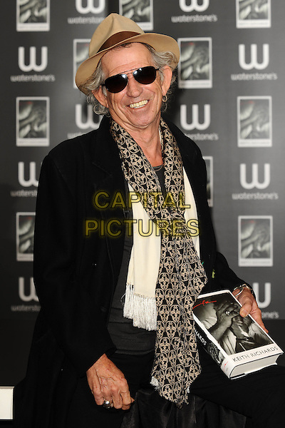 Wednesday, November 03 2010    Keith Richards - book signing, Waterstone's Piccadilly, London        <br /> CAP/CK<br /> &copy;CK/Capital Pictures