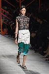 October 14,2013, Tokyo, Japan: Mercedes Benz Fashion Week Tokyo 2014 S/S kick off was with Italian Designer Missoni. (Photo by Michael Steinebach/AFLO)