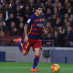 30.12.2015 Barcelona. La Liga , day 17. Picture show Luis Suarez in action during game between FC Barcelona against Betis at Camp Nou